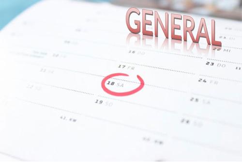 Calendario escolar general