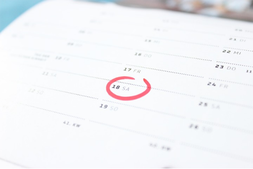 Calendario de Calificaciones